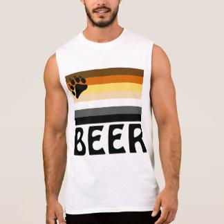 Dutch (Beer) Gay Bear Pride Flag Sleeveless Shirt