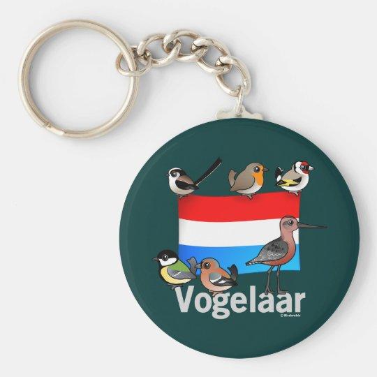 Dutch Birder: Vogelaar Key Ring