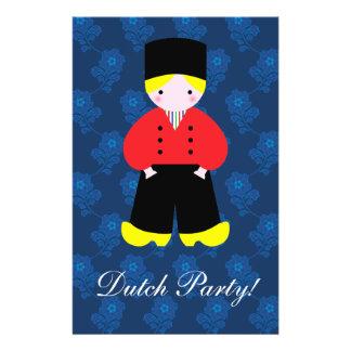 Dutch boy personalized flyer