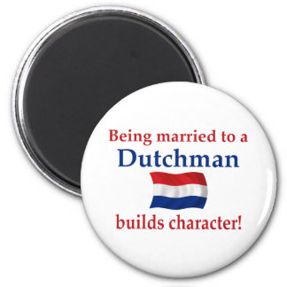 Dutch Builds Character 6 Cm Round Magnet