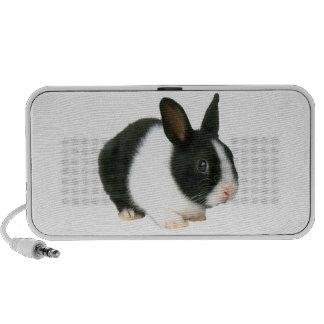 Dutch Bunny Rabbit Doodle Notebook Speakers