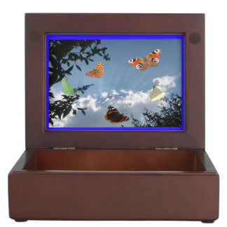 Dutch Butterflies Keepsake Box