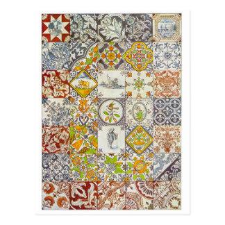 Dutch Ceramic Tiles Postcards