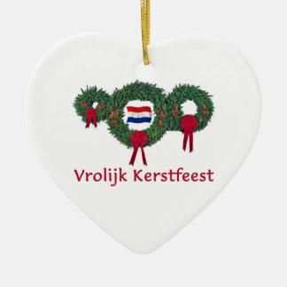 Dutch Christmas 2 Christmas Ornament