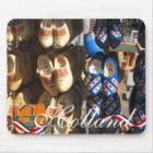 Dutch Clogs Holland Text Souvenir Mousepad