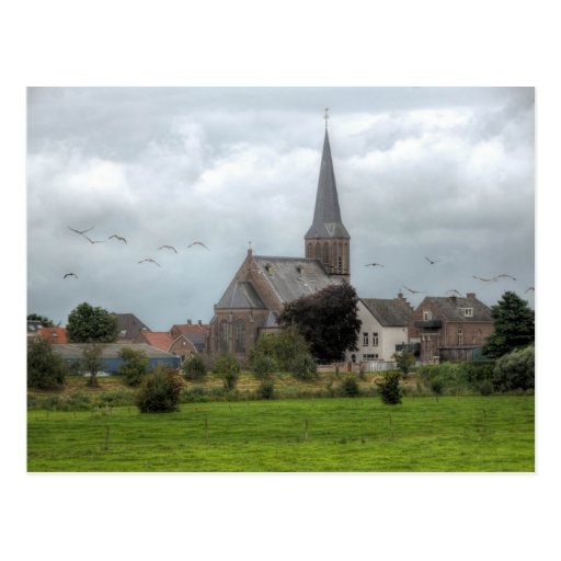 Dutch country music view postcards
