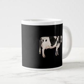 Dutch cow cutout large coffee mug
