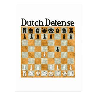 Dutch Defense Postcard