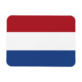 Dutch Flag Rectangular Photo Magnet