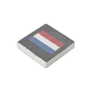 Dutch flag stone magnet
