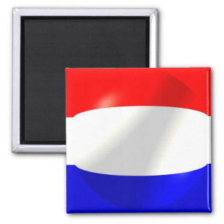 Dutch Flag With Bubble Magnet