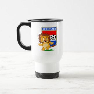 Dutch Football Lion Mug