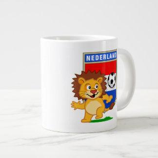 Dutch Football Lion Jumbo Mug