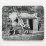 Dutch Gap Shelter: 1864 Mousemats
