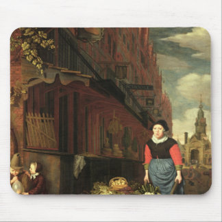 Dutch Genre Scene, 1668 Mouse Pad