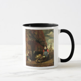 Dutch Genre Scene, 1668 Mug