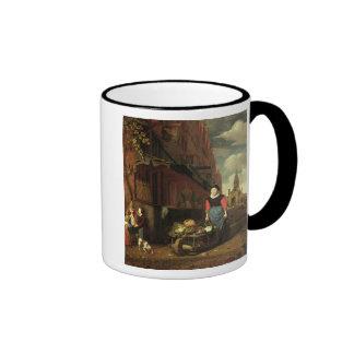 Dutch Genre Scene, 1668 Coffee Mug