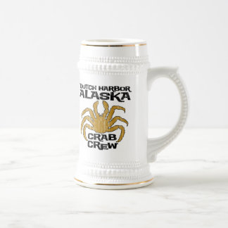 DUTCH HARBOR ALASKA CRAB CREW BEER STEIN