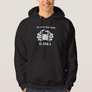 Dutch Harbor Alaska: Crab Fisherman Hoodies