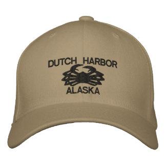Dutch Harbor Alaska King Crab Embroidered Hat