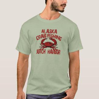 Dutch Harbor Alaska Red Crab Fishing T-Shirt