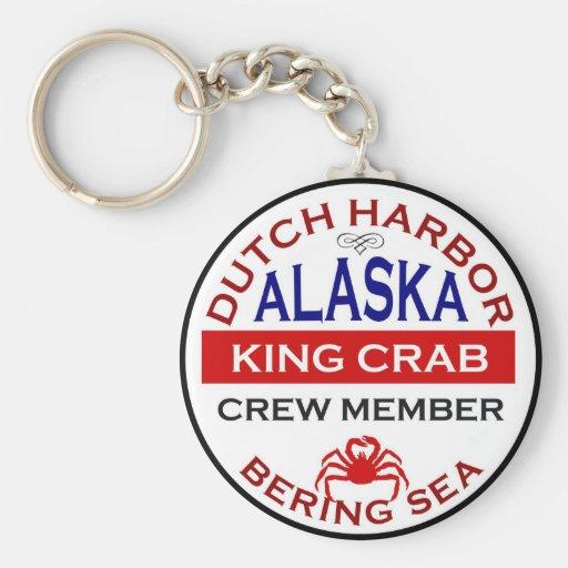 Dutch Harbor Alaskan King Crab Crew Member Key Chain