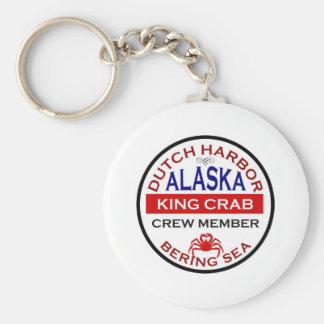 Dutch Harbor Alaskan King Crab Crew Member Key Ring