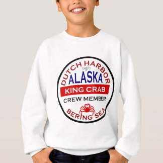Dutch Harbor Alaskan King Crab Crew Member Sweatshirt