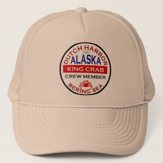 Dutch Harbor Alaskan King Crab Crew Member Trucker Hat