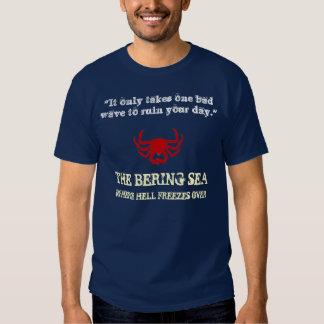 Dutch Harbor Bering Sea Crab Fishing T-shirts