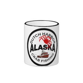 Dutch Harbor Crab Fishing Ringer Mug