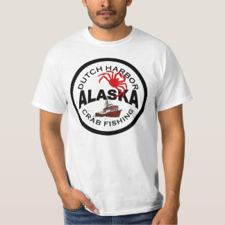 Dutch Harbor Crab Fishing Tee Shirts