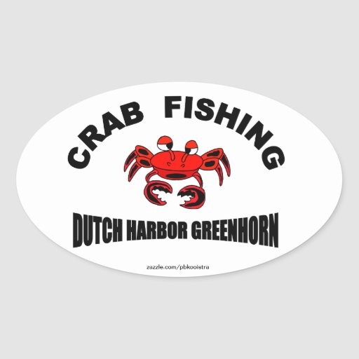 Dutch Harbor Greenhorn Crab Fishing Sticker
