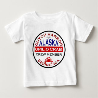 Dutch Harbor Opilio Crab Crew Member Baby T-Shirt