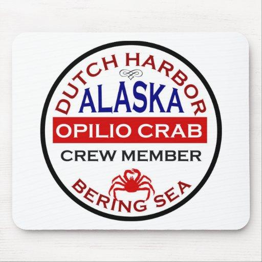 Dutch Harbor Opilio Crab Crew Member Mouse Mat