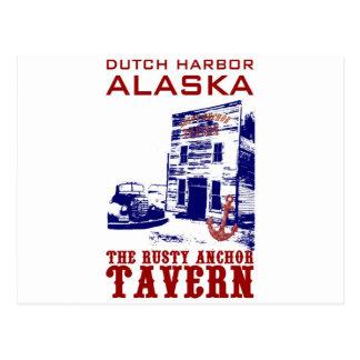 Dutch Harbor Rusty Anchor Tavern Postcard