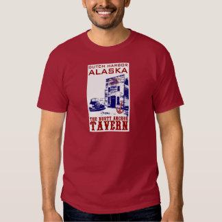 Dutch Harbor Rusty Anchor Tavern T Shirts
