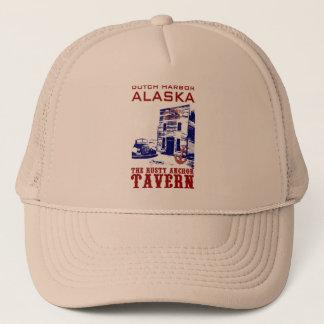 Dutch Harbor Rusty Anchor Tavern Trucker Hat