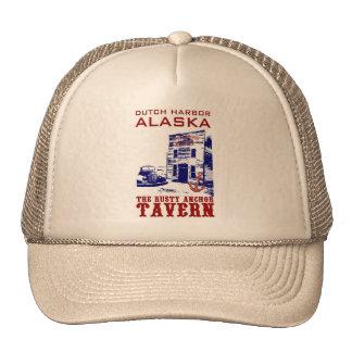 Dutch Harbor Rusty Anchor Tavern Trucker Hats