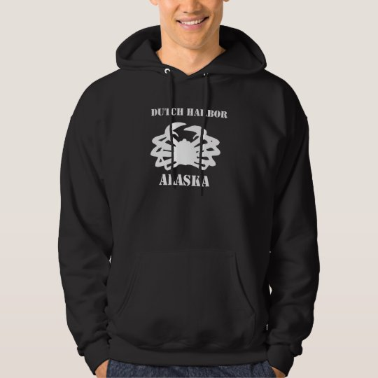 Dutch Harbour Alaska: Crab Fisherman Hoodies