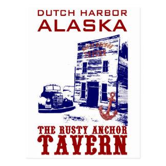 Dutch Harbour Rusty Anchor Tavern Postcard