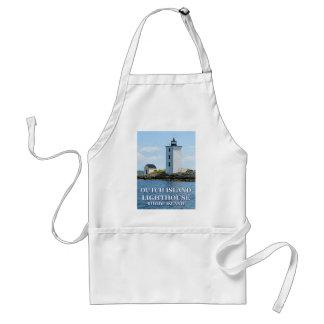 Dutch Island Lighthouse, Rhode Island Apron