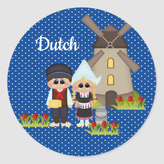 Dutch Kids of the World Holland Sticker