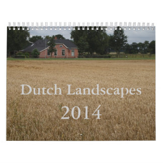 Dutch Landscapes 2014 Wall Calendars
