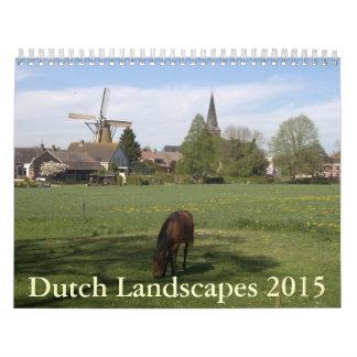 Dutch Landscapes 2015 Calendar