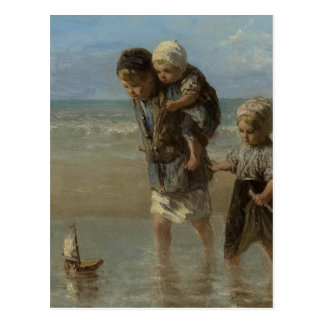 Dutch masters - painting postcard