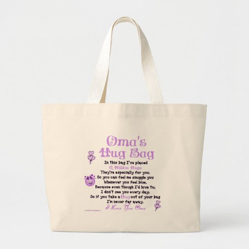 Dutch Oma Single Verse Tote Bags