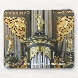 Dutch organ pipes mouse pad