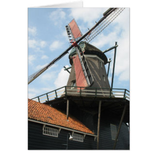 Dutch Sawmill in IJlst, Friesland Holland Card