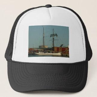 Dutch Schooner In Danish Harbor Trucker Hat
